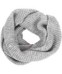 Pieces Echarpe Pakaja tube scarf gris