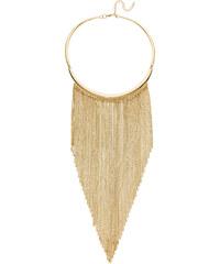 bpc bonprix collection Kette mit Ring und Metallfäden in gold für Damen von bonprix