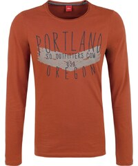 S.Oliver RED LABEL Longsleeve mit Schriftprint