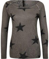 Key Largo Viskose Pullover mit Sternen