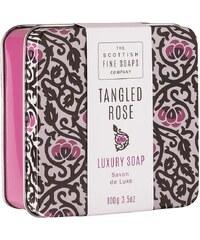 Scottish fine soaps Mýdlo v plechové krabičce Tangled Rose 100 g