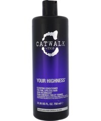 Tigi Catwalk Your Highness Nourishing Conditioner 750ml Kondicionér na normální vlasy W Conditioner pro objem
