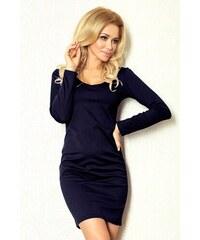 SAF dámské šaty s dlouhým rukávem tmavě modré velikost oblečení: S
