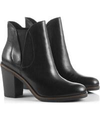 Esprit Stylové boty Chelsea z kůže