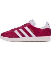 Sneakers - tenisky Adidas Originals Gazelle Collegiate Burgundy / White / Gold Met.