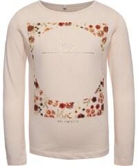 Růžové holčičí tričko s dlouhým rukávem name it Kaja