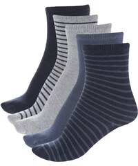 Set pěti párů modrých a šedých klučičích ponožek name it 5-Packper