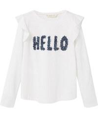 MANGO KIDS T-Shirt Perles Message