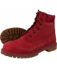 "Boty Timberland 6"" Premium Waterproof Red A13HV"