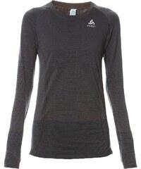 Odlo BRIANA - T-shirt running à manches longues - gris