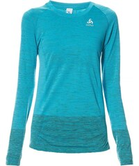 Odlo BRIANA - T-shirt running à manches longues - bleu