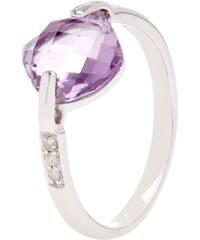 Autour du Diamant Losa Améthyste - Ring