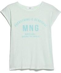 Mango T-shirt - vert