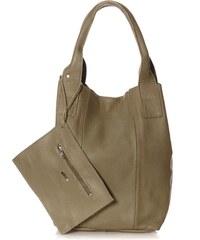 Oakwood Handtasche inklusive Täschchen - khaki