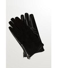 Orsay Handschuhe in Lederoptik mit Details