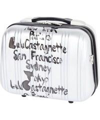 Lulu Castagnette Koffer - silberfarben