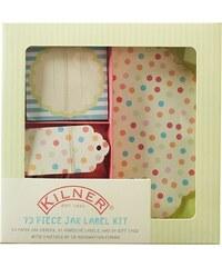 Kilner Set de finition pour conserves - 73 pièces pastel