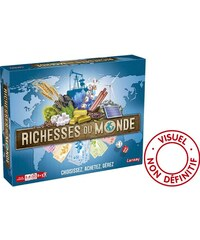 Lansay Richesse du monde - Jeu de société/puzzle - multicolore
