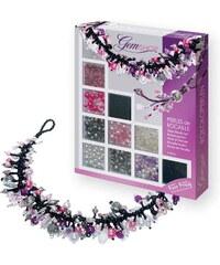 Sentosphere Perles de rocaille - Kit créatif bijoux - violet