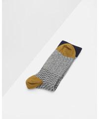 Ted Baker Socken mit drei verschiedenen Mustern Grau