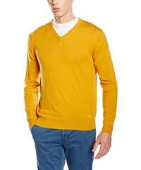 Scalpers Herren Pullover Jeremy V Neck 02:Mustard