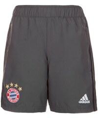 FC Bayern München Woven Trainingsshort Kinder adidas Performance grau 128 - XS,140 - S,152 - M,164 - L,176 - XL