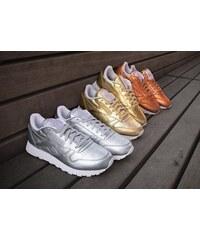 Reebok Cl Leather Spirit W Schuhe lt-gold/white