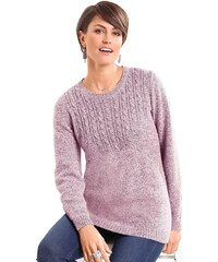 Classic Basics Pullover mit Zopfmuster