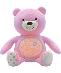 Chicco® Stofftier mit Lichtprojektion und Soundfunktion, ca. 30 cm, »First Dreams Baby Bär, Rosa«