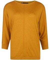 WE Fashion Strickpullover mustard yellow