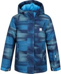 LOAP Chlapecká lyžařská bunda Zelma - modrá