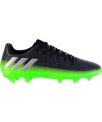 Adidas Messi 16.3 FG Football Boots Junior, dkgrey/solgreen