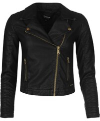 Firetrap Blackseal Kate Biker Jacket, black
