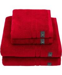 GANT Serviette De Bain De Qualité Supérieure En Tissu éponge - Dark Red