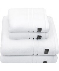 GANT Serviette De Bain De Qualité Supérieure En Tissu éponge - White