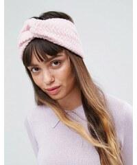 ASOS - Gestricktes Haarband - Rosa