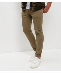 New Look Hellgrüne Skinny-Hose
