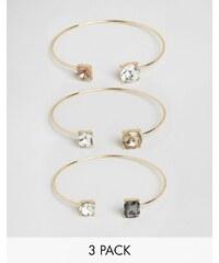 Cara Jewellery Cara NY - Armbänder im 3-Pack - Gold