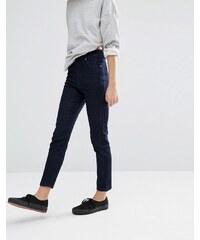 Dr Denim - Jean skinny taille haute longueur cheville - Bleu