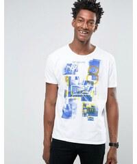 United Colors of Benetton - T-shirt imprimé graphique - Blanc