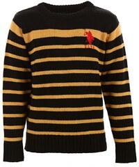 Chlapecký pruhovaný svetr U.S. Polo