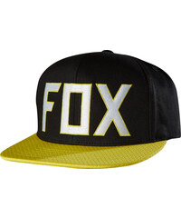 ASSIST SNAPBACK HAT BLACK OS FOX
