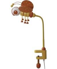 Prezent Stolní lampa VČELKA oranžová/žlutá/dřevo 28162