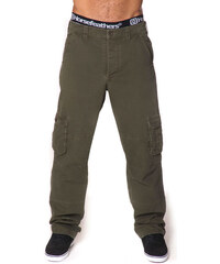 HORSEFEATHERS FUNDAMENTAL CARGO PANTS (olive)