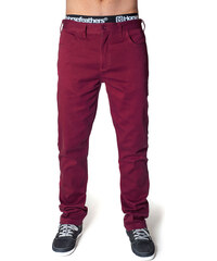 HORSEFEATHERS LAST PANTS (ruby)