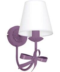 Prezent Dětské nástěnné svítidlo KOKARDKA 1xE14/60W fialová LU5589
