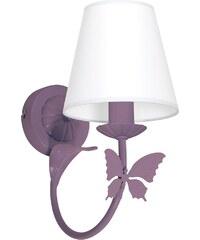 Prezent Dětské nástěnné svítidlo MOTÝLEK 1xE14/60W fialová LU5601