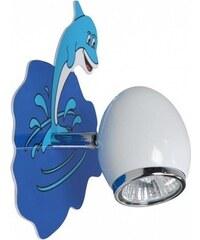 Klik Klik 0115.01 - Nástěnné svítidlo DELFIN GU10/50W/230V 28455