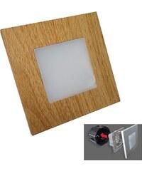 Luxera Luxera 48307 - LED orientační svítidlo STEP LIGHT 16xLED SMD/1W/230V 48307