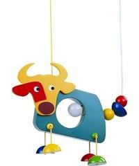 Prezent LAC041A - Dětský lustr kravička 1xE14/40W/230V PG0001